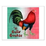 El Gallo Grande Small Poster