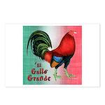 El Gallo Grande Postcards (Package of 8)