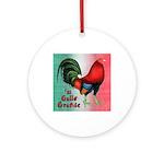 El Gallo Grande Ornament (Round)
