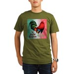 El Gallo Grande Organic Men's T-Shirt (dark)