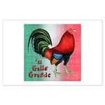 El Gallo Grande Large Poster