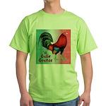El Gallo Grande Green T-Shirt