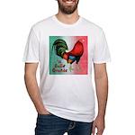 El Gallo Grande Fitted T-Shirt