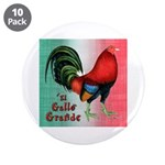 "El Gallo Grande 3.5"" Button (10 pack)"