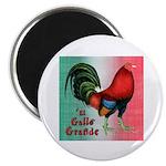 "El Gallo Grande 2.25"" Magnet (10 pack)"