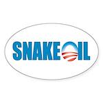 Snake Oil Oval Sticker (10 pk)