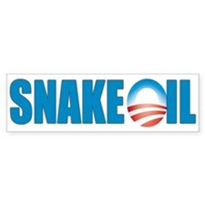 Snake Oil Bumper Bumper Sticker
