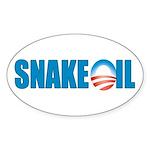 Snake Oil Oval Sticker