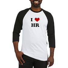 I Love HR Baseball Jersey
