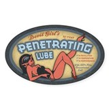 Penetrating Lube Oval Decal
