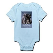 Big Stick Dog Infant Bodysuit
