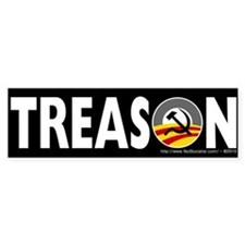 Anti-Obama Treason Bumper Sticker