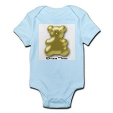 Sweet Treat Yellow Infant Creeper