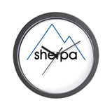 Sherpa Stuff Wall Clock