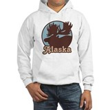 Alaska Moose Hoodie Sweatshirt
