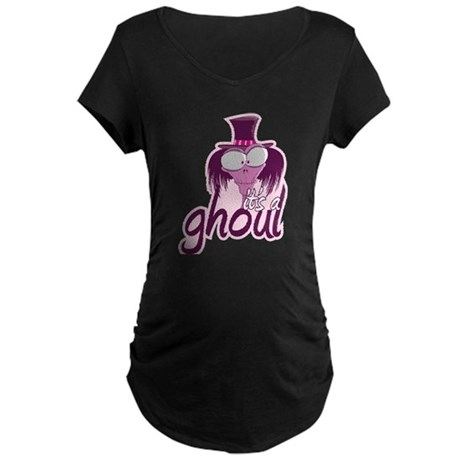 It's a Ghoul Maternity Dark T-Shirt