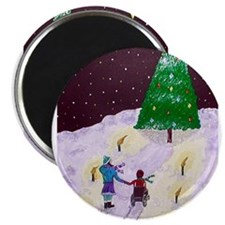 "Cute Wheelchair 2.25"" Magnet (100 pack)"