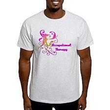 Scroll Leaf Designs T-Shirt