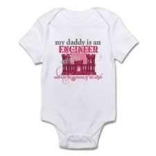 Daddy Engineer pink Body Suit