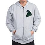 Sumatra Rooster Head Zip Hoodie