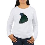 Sumatra Rooster Head Women's Long Sleeve T-Shirt
