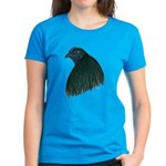 Sumatra Rooster Head Women's Dark T-Shirt