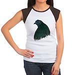 Sumatra Rooster Head Women's Cap Sleeve T-Shirt