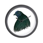 Sumatra Rooster Head Wall Clock