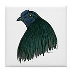 Sumatra Rooster Head Tile Coaster