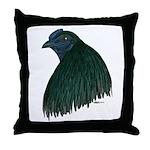 Sumatra Rooster Head Throw Pillow