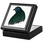Sumatra Rooster Head Keepsake Box
