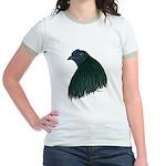 Sumatra Rooster Head Jr. Ringer T-Shirt