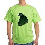 Sumatra Rooster Head Green T-Shirt