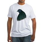 Sumatra Rooster Head Fitted T-Shirt