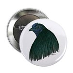 """Sumatra Rooster Head 2.25"""" Button (10 pack)"""