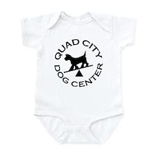 QC Dog Center Infant Bodysuit