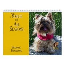 A Yorkie for All Seasons Wall Calendar
