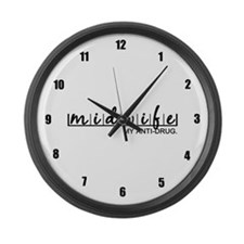 Midwife, My Anti-Drug Large Wall Clock
