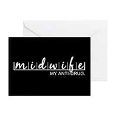 Midwife, My Anti-Drug Greeting Cards (Pk of 20)