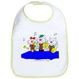 Bell Choir Cat Apparel Bib