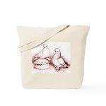 Tumbler Pigeons Tote Bag