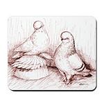Tumbler Pigeons Mousepad