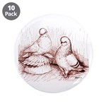 """Tumbler Pigeons 3.5"""" Button (10 pack)"""