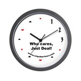 Just Deal Wall Clock