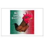 El Gallo Peligroso Large Poster