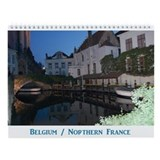 Belgium / France Wall Calendar