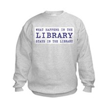 In the Library Sweatshirt