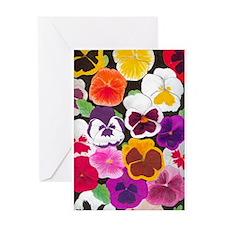 Pansies Greeting Card