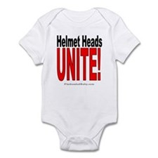 Helmet Heads Unite! Infant Bodysuit