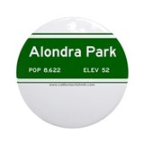 Alondra Park Ornament (Round)